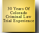 H. Michael Steinberg Colorado Criminal Defense Lawyer - 30 years experience
